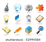 high detailed realistic vector... | Shutterstock .eps vector #52994584