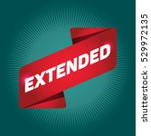 extended arrow tag sign. | Shutterstock .eps vector #529972135