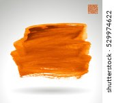 brush stroke and texture.... | Shutterstock .eps vector #529974622