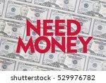 50 us dollar bill background... | Shutterstock . vector #529976782