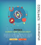 physics and math. education and ... | Shutterstock .eps vector #529978222