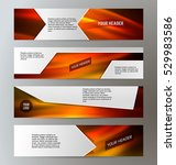 set design elements business... | Shutterstock .eps vector #529983586