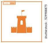 vector icon fortress   Shutterstock .eps vector #529988875