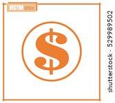 dollar sign icon | Shutterstock .eps vector #529989502