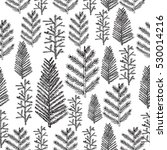 seamless pattern with hand... | Shutterstock . vector #530014216