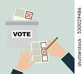 voting concept in flat style ...