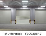 shutter door or roller door and ... | Shutterstock . vector #530030842