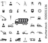 truck icon. construction icons... | Shutterstock .eps vector #530031136