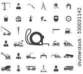 construction ruler icon.... | Shutterstock .eps vector #530031142