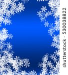 snowflake background | Shutterstock . vector #530038822