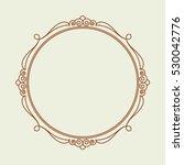 frames .vintage vector.well... | Shutterstock .eps vector #530042776