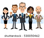 global business team | Shutterstock .eps vector #530050462