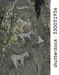 Altay Ancient Cliff Painting