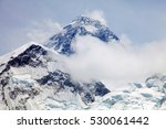 view of top of mount everest... | Shutterstock . vector #530061442