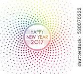 Happy New Year 2017 Label...