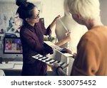 fashion design mannequin...   Shutterstock . vector #530075452