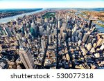 aerial view of the skyscrapers...   Shutterstock . vector #530077318