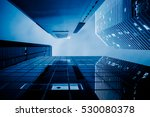 low angle view of skyscrapers... | Shutterstock . vector #530080378