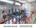 mechanical workshop of painting ... | Shutterstock . vector #530105236