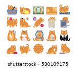 business commerce finance cat... | Shutterstock .eps vector #530109175