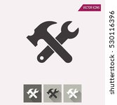 tool vector icon. illustration... | Shutterstock .eps vector #530116396