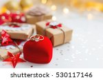 christmas and new year... | Shutterstock . vector #530117146