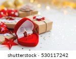 christmas and new year... | Shutterstock . vector #530117242