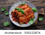 Baked Cannelloni With Mincemea...
