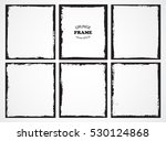 vector grunge frames.grungy... | Shutterstock .eps vector #530124868