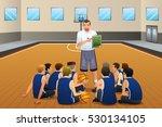 a vector illustration of... | Shutterstock .eps vector #530134105
