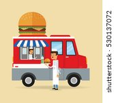 food truck design | Shutterstock .eps vector #530137072