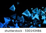 abstract 3d rendering of... | Shutterstock . vector #530143486