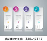 infographic design vector and... | Shutterstock .eps vector #530143546