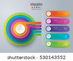 infographic design vector and... | Shutterstock .eps vector #530143552