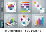infographic design vector and... | Shutterstock .eps vector #530143648
