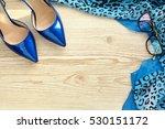 women's accessories. concept of ... | Shutterstock . vector #530151172