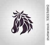 horse logo vector icon design | Shutterstock .eps vector #530156842