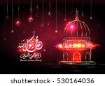 illustration of birthday of the ... | Shutterstock .eps vector #530164036