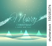 magical merry christmas... | Shutterstock .eps vector #530181376