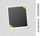 abstract photo frame fixed by... | Shutterstock .eps vector #530185888