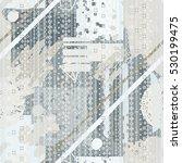 abstract art seamless pattern ...