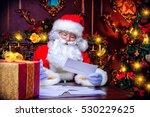 Santa Claus Is Preparing For...