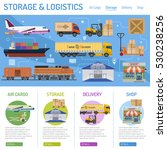 storage and delivery concept... | Shutterstock .eps vector #530238256