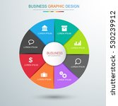 circle business infographic...