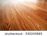 wood laminate floor with... | Shutterstock . vector #530245885