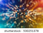 abstract blurred of blue and... | Shutterstock . vector #530251378