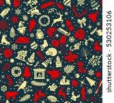 seamless pattern texture... | Shutterstock .eps vector #530253106