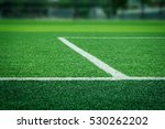 artificial turf of soccer... | Shutterstock . vector #530262202