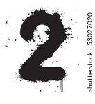 Number Graffiti Two