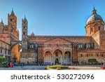the beautiful cathedral of... | Shutterstock . vector #530272096